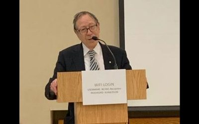 Irwin Cotler – Keynote Speaker, ICJW Annual Meeting
